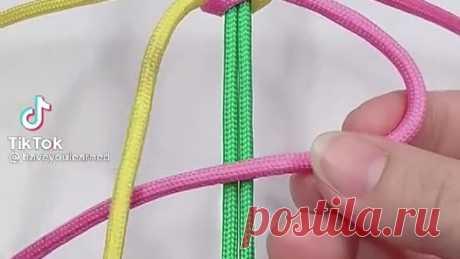 Плетение шнуром.