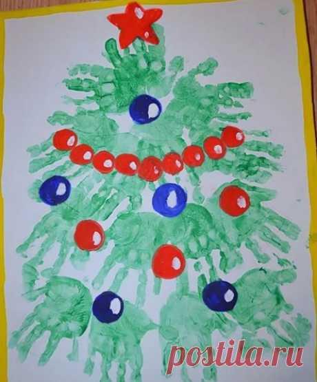 Открытки на Новый год своими руками из бумаги и картона (шаблоны для детей внутри)