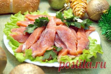 "Poco salada gorbusha \""De fiesta\"""