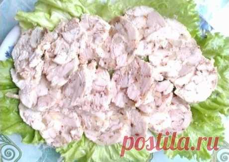 (5) Домашняя ветчина из курицы - пошаговый рецепт с фото. Автор рецепта Ольга . - Cookpad