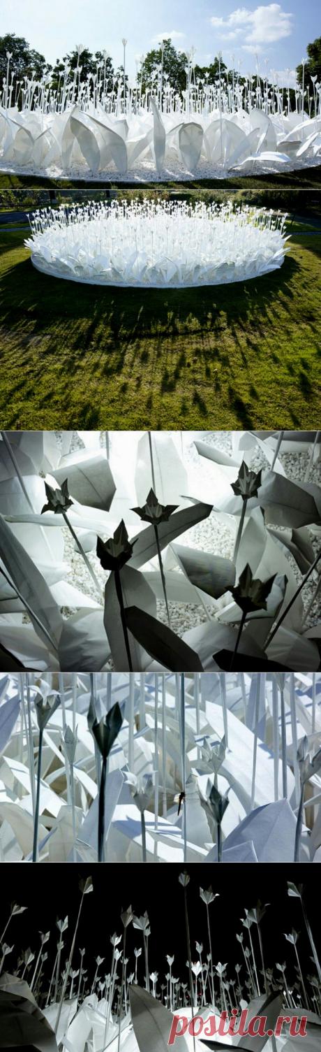 Оригами клумба / Бумага и карандаши (скрапбукинг, оригами, и т.д.) / ВТОРАЯ УЛИЦА