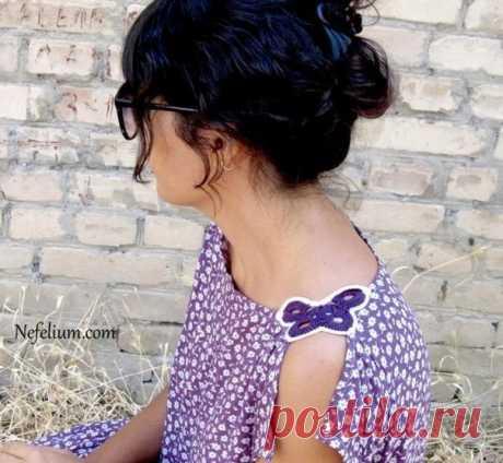 Оригинальная и очень простая идея для летнего наряда (Шитье и крой) – Журнал Вдохновение Рукодельницы
