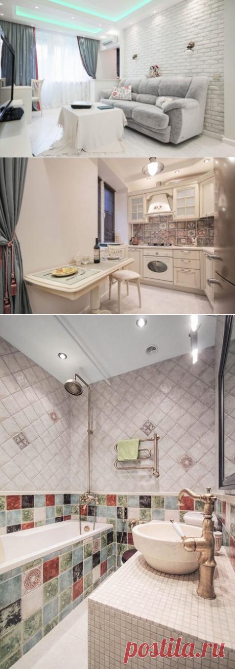 Дизайн московской «хрущевки» площадью 45 кв. метров — Pro ремонт