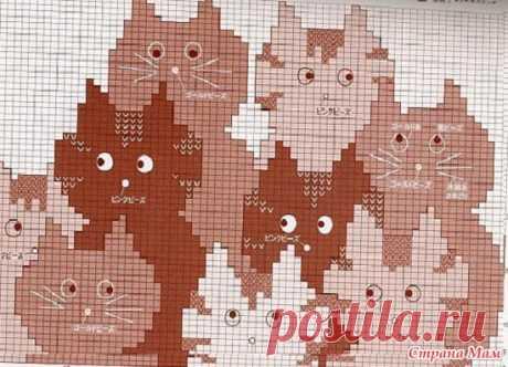. Свитер для моей любительницы кошек - Вязание - Страна Мам