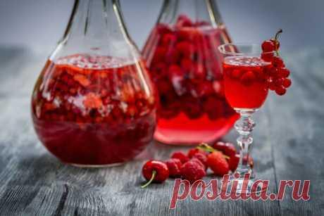 3 рецепта шикарной домашней наливки: лучше любого дорогого алкоголя из магазина | Селовед — идеи дачи и огорода | Яндекс Дзен