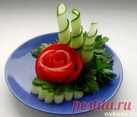 Красивая подача овощных нарезок   Оформление овощной нарезки очень важный момент в подготовке к праздничному застолью. Она должна обязательно присутствовать на праздничном столе – ведь не все гости любят готовые салаты, некоторым х…