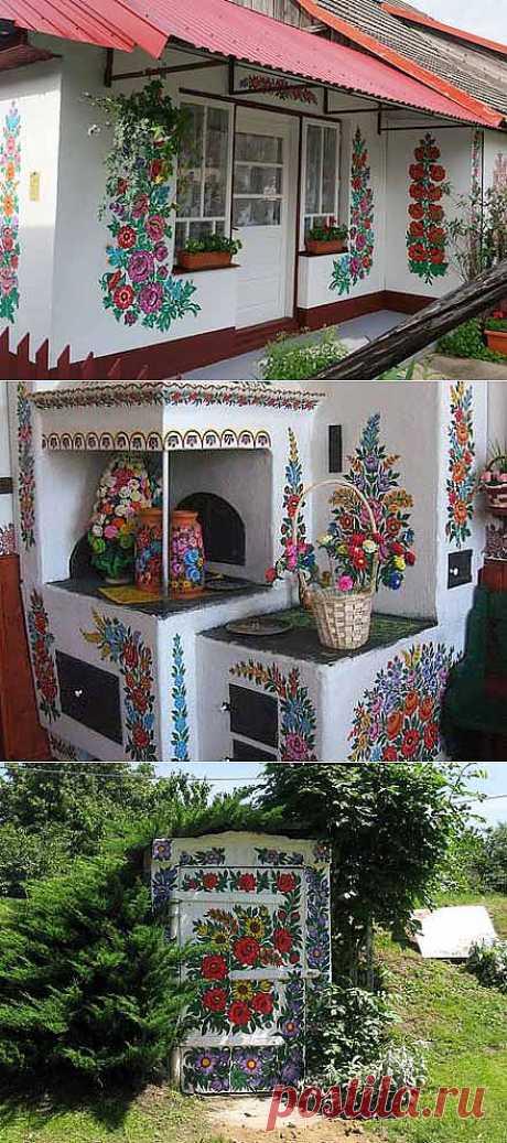 La casa de campo hermosa: el encanto de las tradiciones públicas