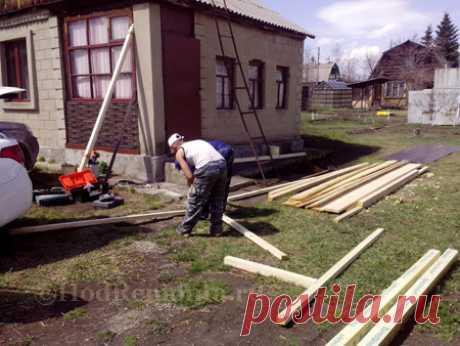 Деревянное крыльцо для дачного домика своими руками