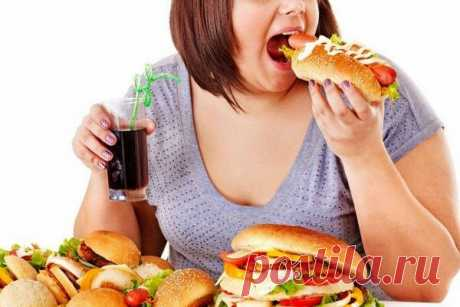 4 причины, почему мы переедаем и набираем лишний вес - Я узнаю