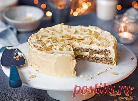 Шведский миндальный торт рецепт с фото - 1000.menu
