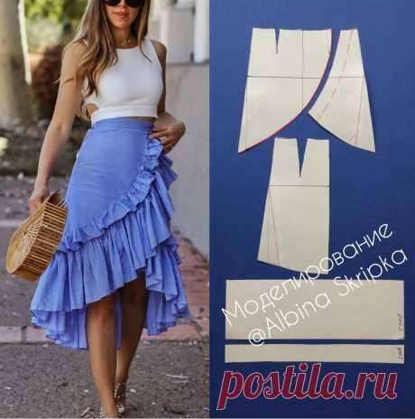 Моделирование нарядной юбки — Сделай сам, идеи для творчества - DIY Ideas