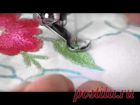 Singer Sewing Machine Darning Embroidery Foot