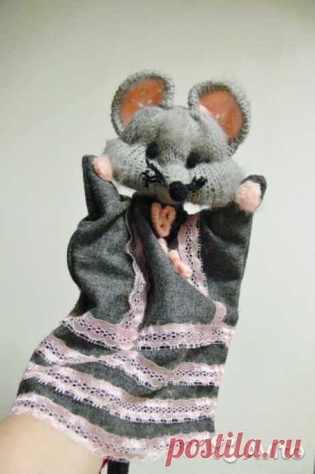 Перчаточная кукла Мышка Игрушка на руку купить в Костромской области на Avito — Объявления на сайте Avito