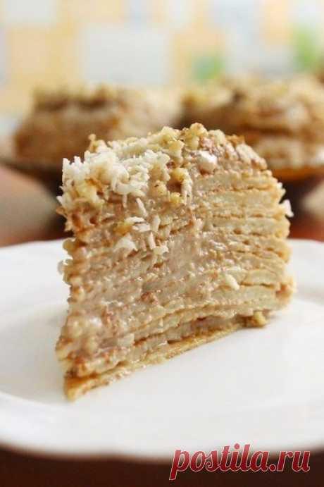 Как приготовить блинный торт - рецепт, ингредиенты и фотографии