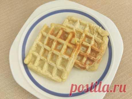 Яблочные вафли по-венски на молоке рецепт с фото пошагово