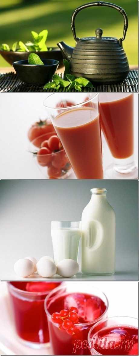 ¡Si quieres ser sano, bebe las bebidas correctas!