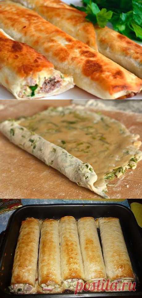 Вкуснейшее блюдо из тонкого лаваша! – В РИТМЕ ЖИЗНИ