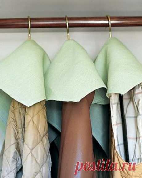 Хитрости, которые помогут навести порядок в доме и увеличить возможности гардеробной