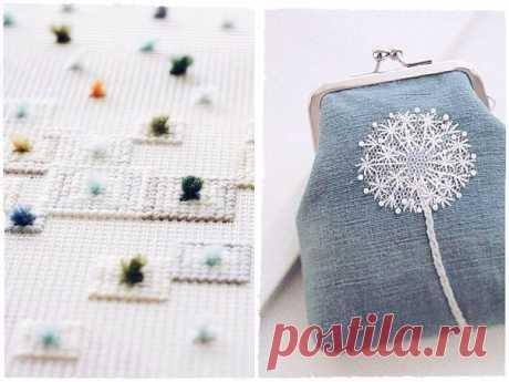 Дизайн: Красивая вышивка для вдохновения