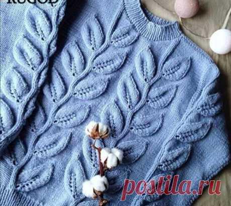 Вязаный женский свитер.Стильные, интересные модели | * Мечтательница* | Яндекс Дзен