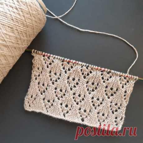 Красивый узор для свитера, вяжем спицами! из категории Интересные идеи – Вязаные идеи, идеи для вязания