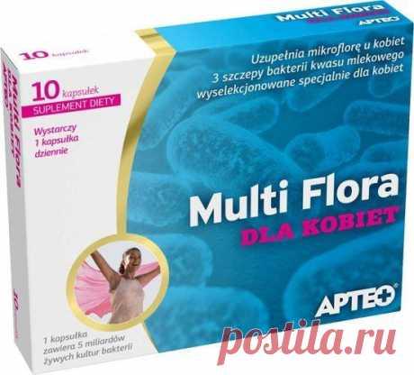 APTEO Multi Flora for women x 10 capsules Specially selected strains of bacteria recommended for women UK! Lactobacillus rhamnosus, Lactobacillus reuteri and Lactobacillus plantarum