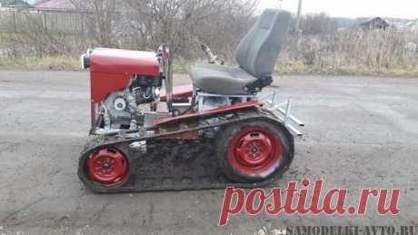Самодельный гусеничный мини трактор: фото и описание самоделки