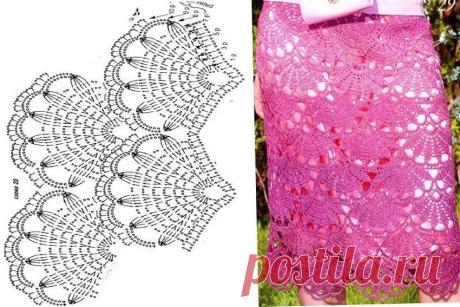Летние юбки крючком (10 моделей для вдохновения) | 38 рукоделок | Яндекс Дзен