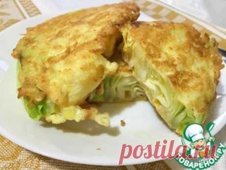 Легкая закуска из молодой капусты - кулинарный рецепт