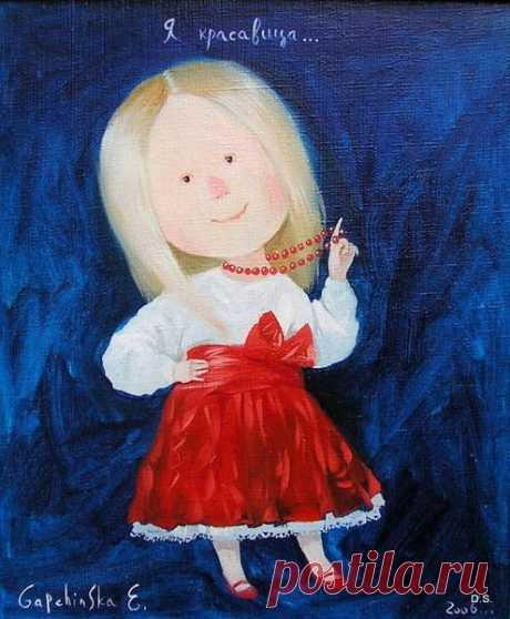 Картины Гапчинской оживают в куклах