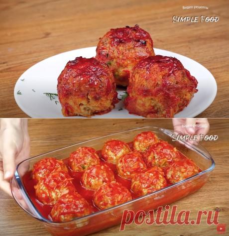 Тефтели из гречки без мяса - Рецепты Simple Food
