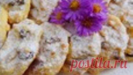 """Творожное печенье """"Вкусное"""" – кулинарный рецепт"""
