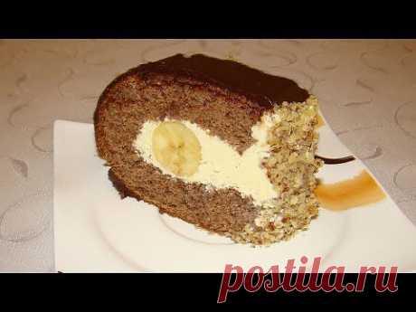 """▶ Шоколадный торт - """"Слоновья слеза"""" - YouTube"""