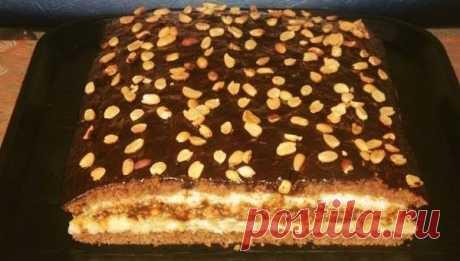 Торт «Домашний» с потрясающим вкусом. Попробовав раз, теперь готовлю постоянно!