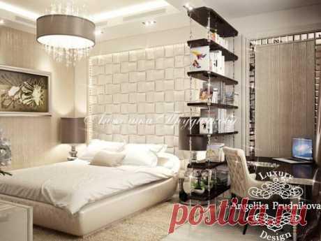 Интерьеры спальни, кабинета и детской комнаты в маленьких квартирах | flqu.ru - квартирный вопрос. Блог о дизайне, ремонте