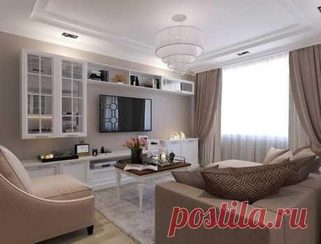 Дизайн проект 3х комнатной квартиры 100 кв.м.