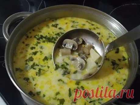 Как приготовить самый вкусный грибной сливочный суп. - рецепт, ингредиенты и фотографии