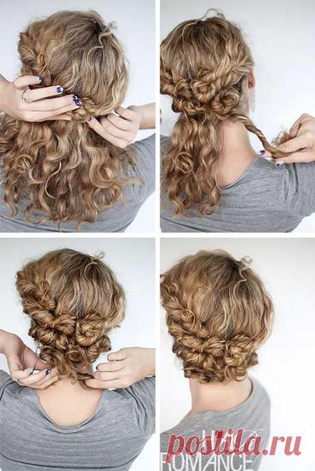 14 фантастических причесок для коротких и волнистых волос   Всегда в форме!