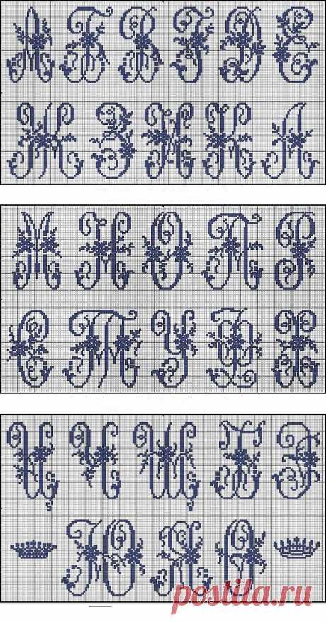 Для милых рукодельниц / Схемы вышивки крестиком / PassionForum - мастер-классы по рукоделию