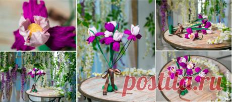 Курс по букетам из конфет «Декоративное колье с цветами. Манекен для украшений»
