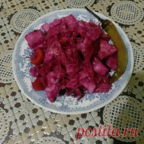 Капуста по-азербайджански - кулинарный рецепт