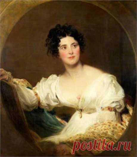 Mrs Littleton, 1822 - Томас Лоуренс - WikiArt.org