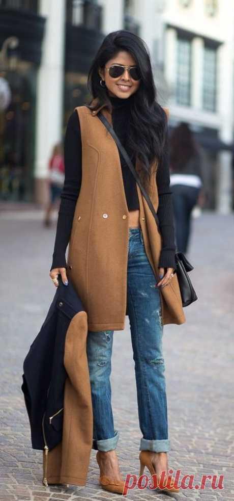 Одни рукава на пальто и жакет Модная одежда и дизайн интерьера своими руками