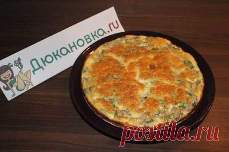 Пирог с рыбкой и яйцом по дюкану от Марии Клениной -> Рецепты блюд из рыбы и морепродуктов по диете Дюкана - Дюкановка