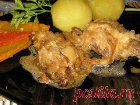 Луковый клопс - простой и вкусный рецепт с пошаговыми фото