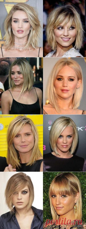 Прически для тонких волос длинных волос. Стрижки на средние тонкие волосы | Модная подружка