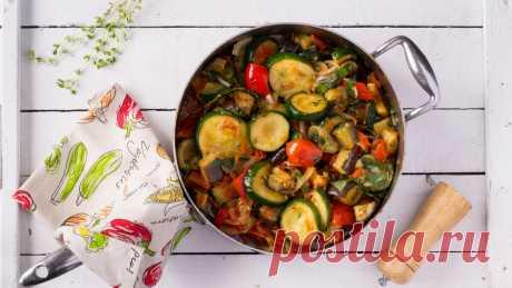 Готовим рататуй на сковороде | gastronom.ru | Яндекс Дзен