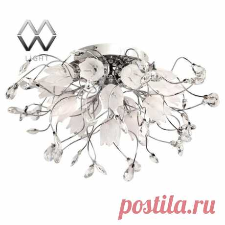 Люстра MW-Light ПОДСНЕЖНИК 294014416 по цене 30320 – купить в Москве в интернет-магазине / Fandeco.ru