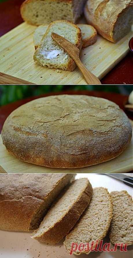 Дачный хлеб. Блюдо получается очень вкусное за счет своей хрустящей поджаристой корочке, нежной, воздушной текстуре и необычайному вкусу!