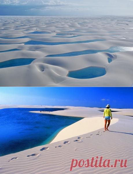 Водная пустыня… Необычно, правда? | Фотоискусство